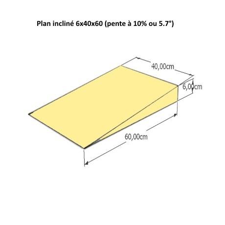 PLANS INCLINES EN MOUSSE 35 dimensions différentes